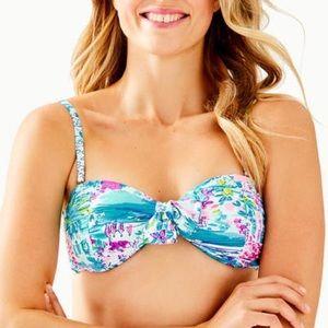 Lilly Pulitzer Josette Bikini Top Multi postcards